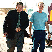 By Charles Whitehouse, AP Ray Krone, right, leaves prison with lawyer Christopher Plourd.