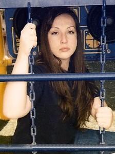 Kirstin Blaise Lobato at the Florence McClure Women's Correctional Center.