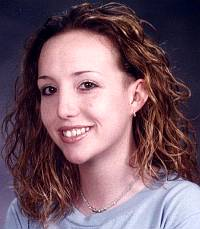Kirstin Blaise Lobato before she was arrested for first-degree murder.