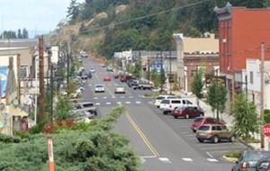 Downtown Kalama, Washington (Kalama Chamber of Commerce)