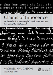 """Claims of Innocence"" by Michael Naughton with Gabe Tan"