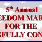 2013 Freedom March Banner