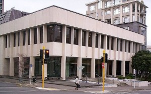 New Zealand's Court of Appeal building in Wellington, New Zealand