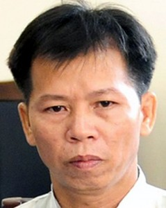 Nguyen Thanh Chan after his release on November 4, 2013