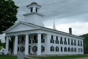 Windham County Courthouse in Newfane, Vermont