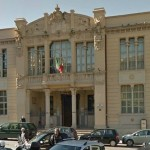 Court of Appeals building in Catanzaro, Italy.