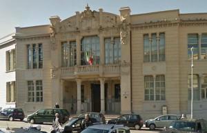 Court of Appeals building in Catanzaro, Italy.