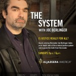 The System with Joe Berlinger (full poster)