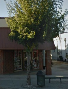 Entrance to the Olde World Trading Company in Ephrata, Washington (Google Streetview)