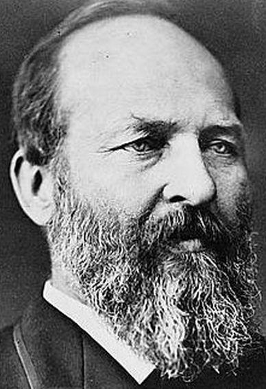 James A. Garfield (1831-1881) (Library of Congress)