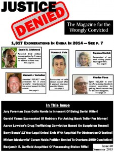 Justice Denied Issue 60
