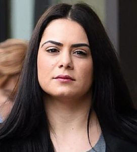 Jessica Silva on June 27, 2016 after a hearing in the NSW Court of Appeals. (AAP)