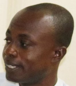 Eric Asante after his release from prison in 2015 (The Mirror, Accra)