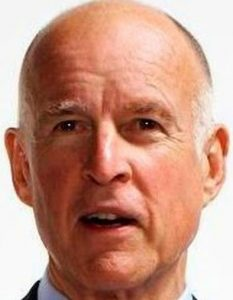 California Governor Jerry Brown (State of Calif.)