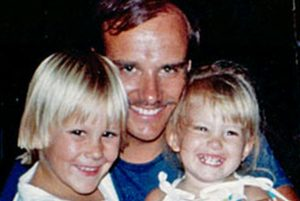 Clyde Spencer with his son Matt and his daughter Katie (Spencer family photo)