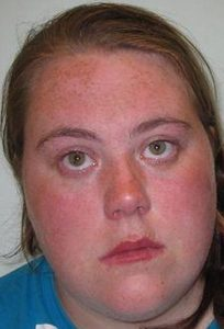 Jemma Beale arrest booking photo (Metropolitan Police)