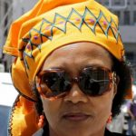 Thandi Maqubela outside the Western Cape High Court on Nov 4-2013 (Nardus Engelbrecht - SAPA)