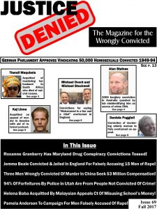 Justice Denied Issue 69