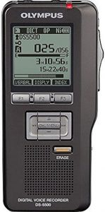 Olympus model DS-5500 voice recorder