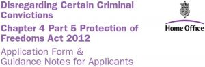 Disregarding Certain Criminal Convictions, UK Home Office